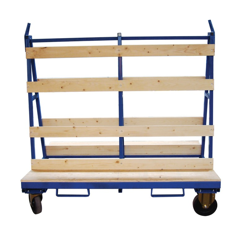 Glass Stillage trolley